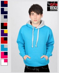 Contrast Hoodie from Cottonridge - ideal for student societies and clubs