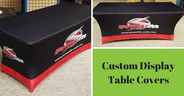 Custom Display Table Covers