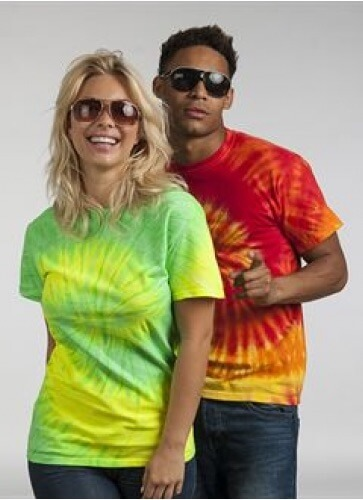 Customised Tie Dye T-shirts