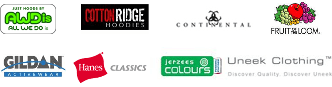 Acorn stocks a wide range of the leading brands for both hoodies and sweathsirts