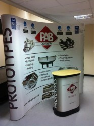 Display banner for PAB Group Ltd.the sheet metal prototype and production specialists