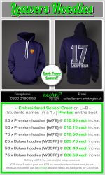 school leaver hoodies 2017