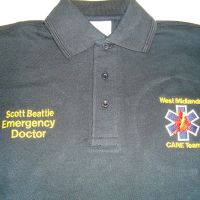 West Mids Care Team Embroidery