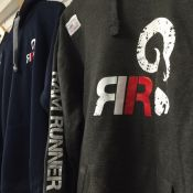 Printed sweatshirts and t-shirts for the Ram Run wild obstacle race