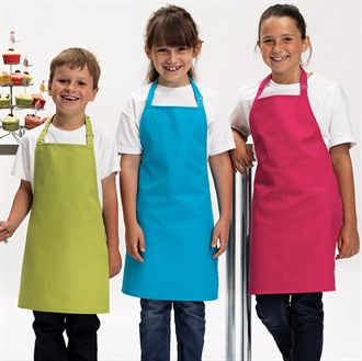 Children's aprons ready to personalise