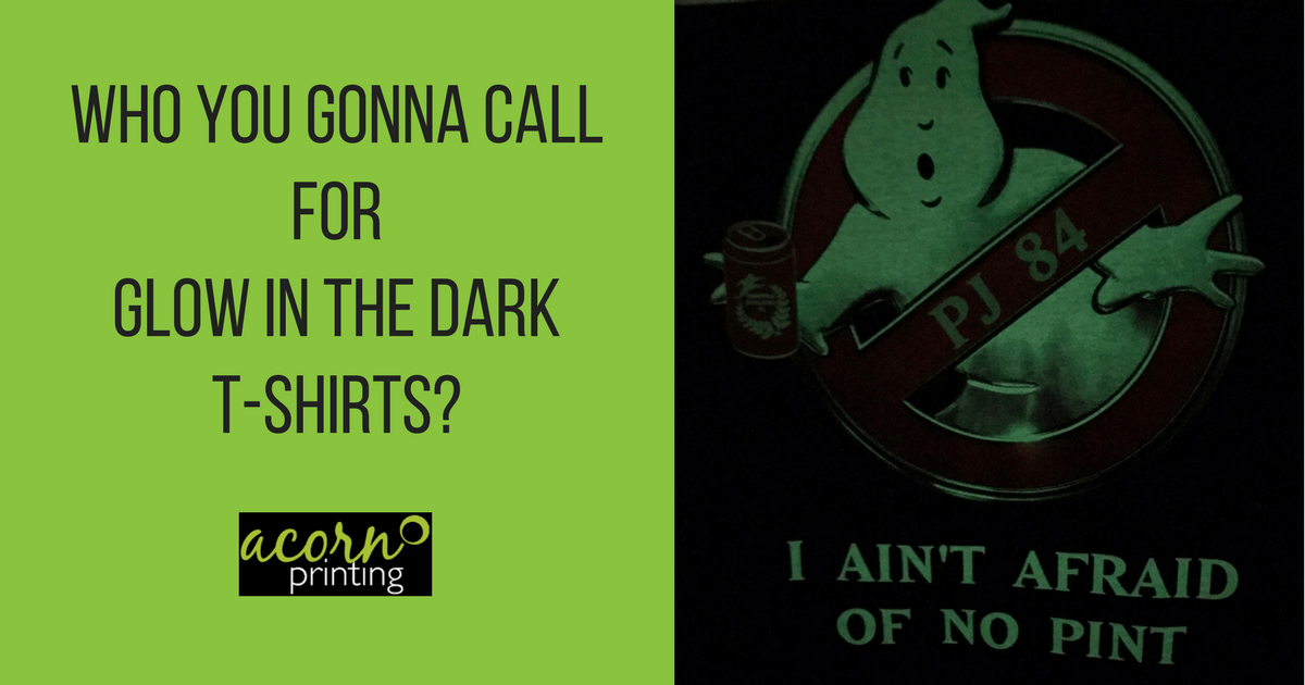 glow in the dark t-shirt printing