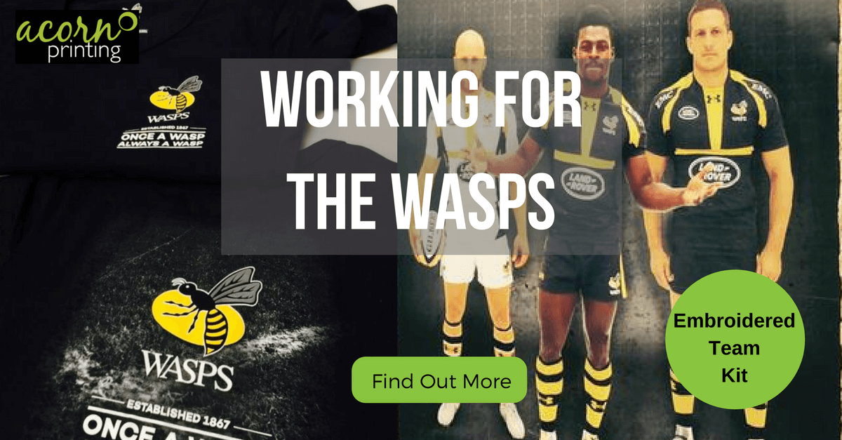 customised team kit for Wsps