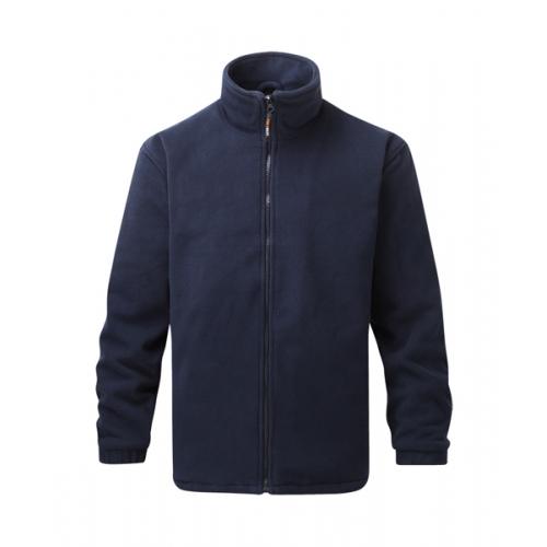 Finden & Hales Kids Contrast Micro Fleece Jacket