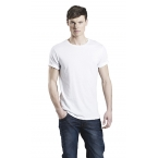 MENS ROLLED SLEEVE T-SHIRT