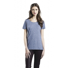 WOMENS SPECIAL YARN EFFECT T-SHIRT