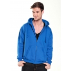 W88 Zip Hoodie with concealed phone pocket