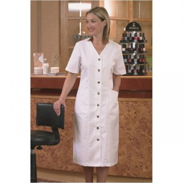 Ladies Beauty & Health 'V' Neck Dress