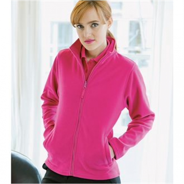 Women's microfleece jacket