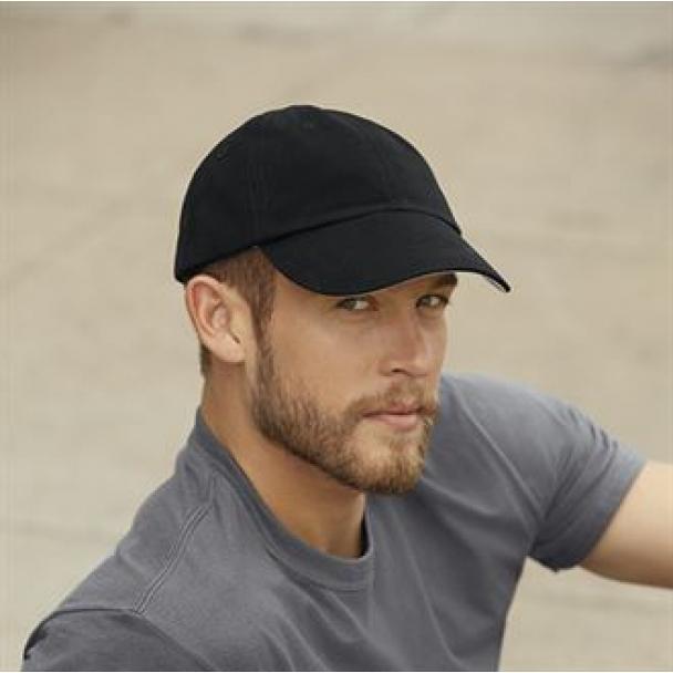 Anvil contrast low profile twill cap
