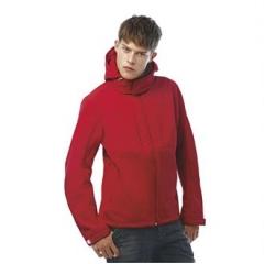 Hooded softshell /men