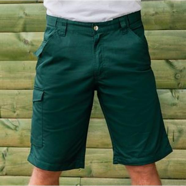 Poly/cotton twill workwear shorts