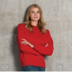 Set-in-sleeve sweatshirt