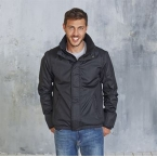Fleece lined blouson jacket