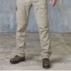 Zip-off trouser