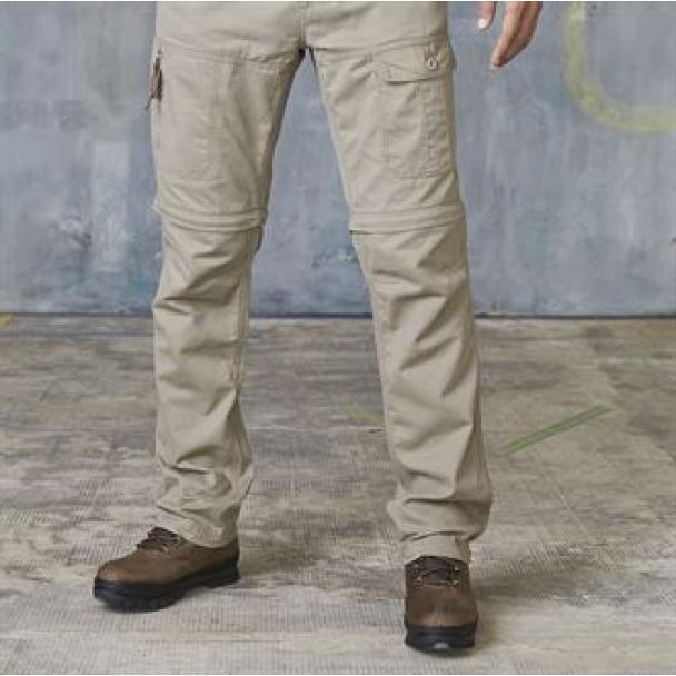 Zip-off trouser