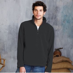 Enzo A¼ zip fleece