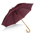 Automatic wooden umbrella