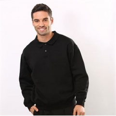 ColourSure polo plaquet sweatshirt