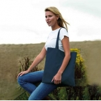 100% Recycled bottle polyester shopping bag