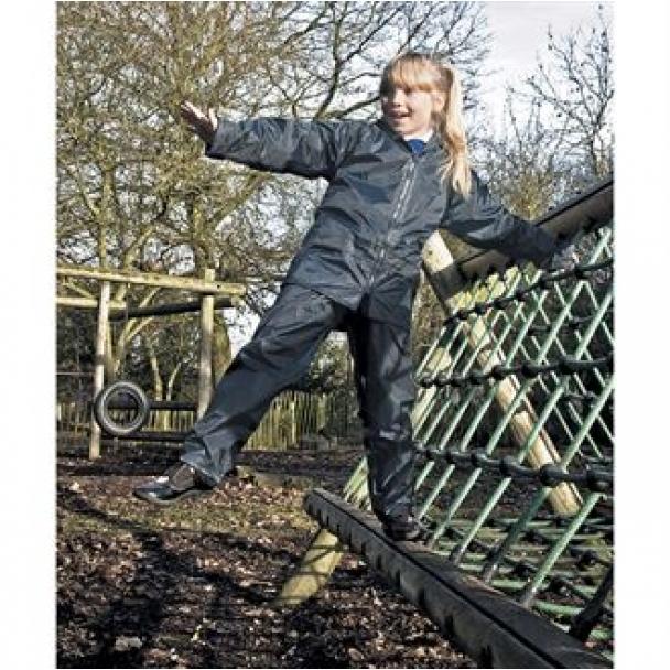 Junior heavyweight waterproof jacket/trouser suit