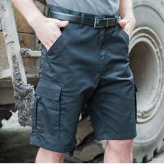 Polycotton cargo shorts
