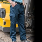 Polycotton cargo trousers