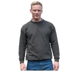 Set-in sleeve sweatshirt