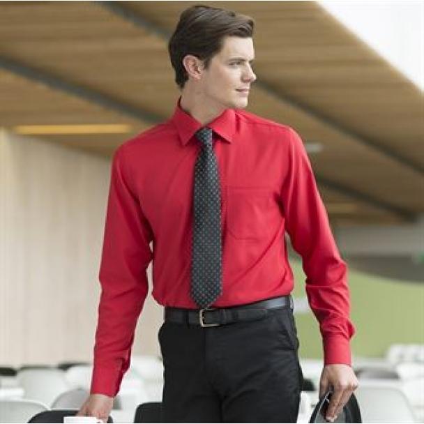 Wicking anti-bacterial long sleeve shirt