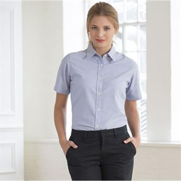 Women's Teflon coated flat front trouser