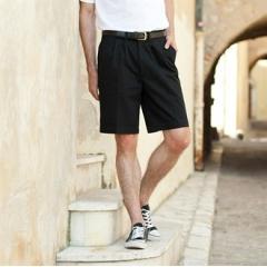 Teflon coated chino shorts
