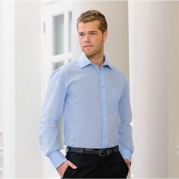 Long sleeve Tencel corporate shirt