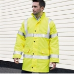 Core safety high vis coat coat