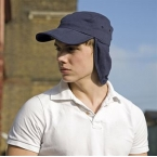 Fold-up legionnaire's cap