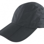 Fold-up pique baseball cap