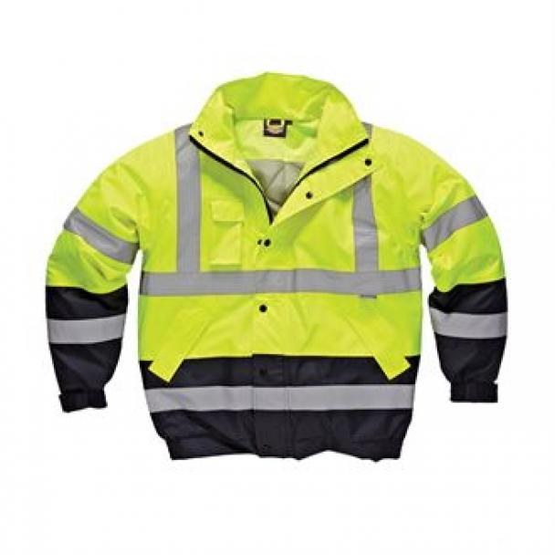 Hi-viz two tone pilot jacket (SA7005)