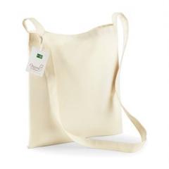 Organic cotton sling tote
