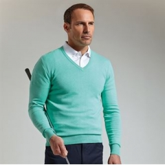 Cotton v-neck sweater (SIC6884VN)