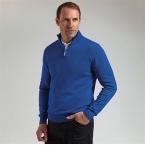 Zip neck cotton sweater (MKC7381ZN)