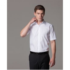 Slim fit business shirt short sleeve