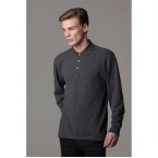 Pique polo long sleeved