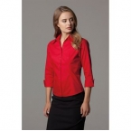 Women's corporate Oxford shirt A¾ sleeved