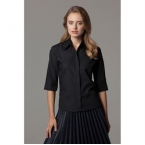 Women's continental blouse A¾ sleeve