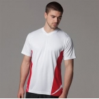 Gamegear Cooltex team top v-neck short sleev