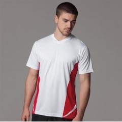 Gamegear Cooltex team top v-neck short sleev