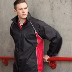 Showerproof training jacket